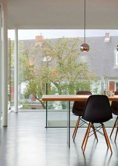 Moderne Haus Erweiterung - Umbau von einem traditionellen, deutschen Haus  - #Architektur