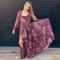 Stevie Boho Maxi Dress $175 @fabfindsbtq