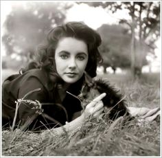 Elizabeth Taylor ( such natural beauty, before becoming a star and looking weird!)
