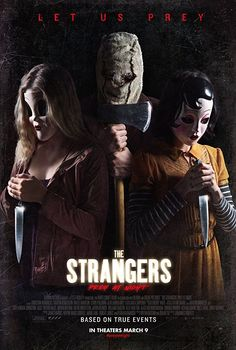 High resolution official theatrical movie poster ( of for Strangers: Prey at Night Image dimensions: 1944 x Starring Christina Hendricks, Bailee Madison, Martin Henderson Christina Hendricks, Latest Movies, New Movies, Movies To Watch, Movies Free, Hd Movies Online, 2018 Movies, Streaming Hd, Streaming Movies