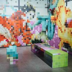 Tobias+Rehberger+installs+pixelated+porn+at+Art+Basel+Miami+Beach