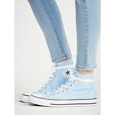 Charlie Hi Top Converse ❤ liked on Polyvore featuring shoes, sneakers, converse trainers, high top canvas sneakers, high top canvas shoes, canvas shoes and high top trainers