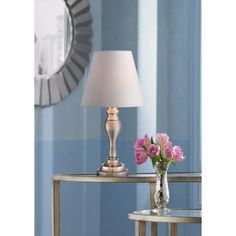 Thom Brass Touch Table Lamp