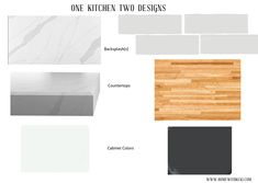 From painted cabinets to new countertops, sharing my easy kitchen refresh plans Staircase Runner, New Staircase, Interior Staircase, New Countertops, Butcher Block Countertops, Quartz Backsplash, Colonial Kitchen, Black Cabinets, Cabinet Colors