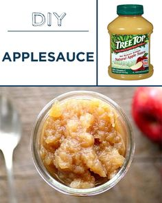 All you need to make amazing applesauce is...apples.