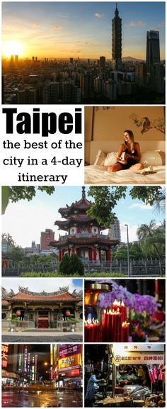 The best of Taipei, what to do and where to stay. An ultimate guide to Taiwan's capital, a 4-day Taipei itinerary packed with attractions, places to visit in Taipei and travel tips about how to get around and where to eat.  #Taipei #Taiwan #TaipeiItinerary #TravelGuide #TravelTips #TravelAsia  via @loveandroad