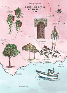 Our South of Spain Roadtrip: Sierra Navada, Frigiliana and Cabo De Gata