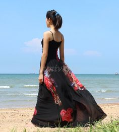 Christmas Gifts Maxi Dress Wedding Gown Bridesmaid by myuniverse, $55.00