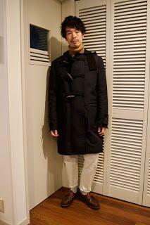 Y's Wardrobe: [sacai paraboot]雪が降った日に履いた久しぶりのホワイトパンツ