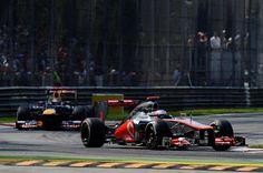 F1 Italian GP - Jenson Button (GBR) McLaren MP4-27.  Formula One World Championship, Rd 13, Italian Grand Prix, Race, Monza, Italy, Sunday, 9 September 2012