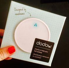 Test et découverte de DODOW, le nouvel objet connecté pour enfin apprendre à comment s'endormir plus rapidement