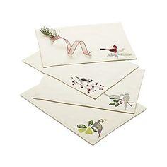 Winter Birds Placemats Set of Four