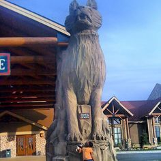 Great Wolf Lodge - Raphael Love Social Media Mentor and Speaker Fish Activities, Great Wolf Lodge, Lodge Decor, More Fun, Statue Of Liberty, Mount Rushmore, Hunting, Vacation, Mountains