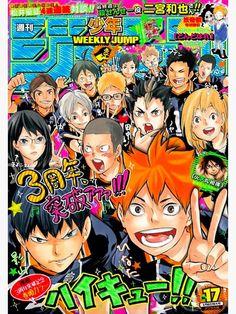 Haikyuu Magazine #1 Poster by softochaco
