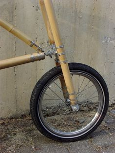 michael verhaeren's bamboo bicycle  designboom | architecture & design magazine