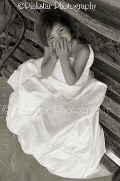 My daughter in my Wedding Dress