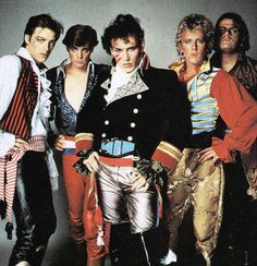 Eighties fashion at it's best - Adam and the Ants