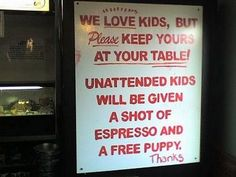 One of my favorite restaurant signs ever! #funny #english #signs