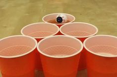 Decorate your pong ball so it looks like an eye. | 27 Incredibly Easy Ways To…