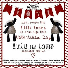 Lulu the lamb www.aliciascheffer.scentsy.us