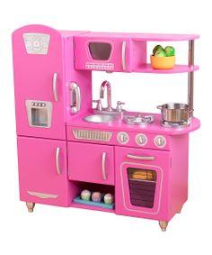 Bubblegum Vintage Kitchen