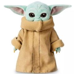 yacn Baby Yoda Plush Figure Toys, Star Wars inch The Child Yoda Plush Toys Baby Yoda Stuffed Doll from The Mandalorian