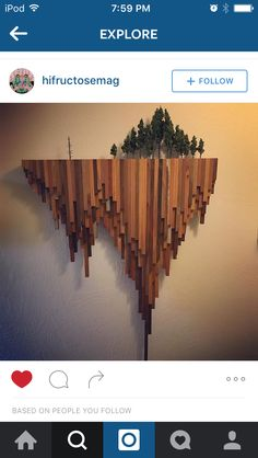 Easy and Stunning DIY Wood Projects Ideas for Decorate Your Home is part of diy-home-decor - The grade of the plans makes all of the difference on woodworking projects So you've got a concept of how you should start off and list a Into The Woods, Diy Wood Projects, Wood Crafts, Decorating Your Home, Diy Home Decor, Decorating Ideas, Rock Decor, Wooden Walls, Wood Sculpture