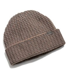 The Cashmere Striped Knit Hat from Coach