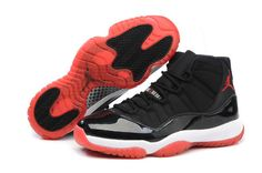 fa7cc592677f Authentic Cheap Air Jordan 11 Shop with Confidence nike Authentic Cheap Air  Jordan retro 11 black red shoe for men
