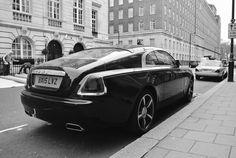 Rolls Royce Wraith, London