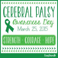 National Cerebral Palsy Awareness Day 2015
