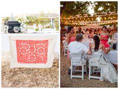 Santa Ynez Ranch Wedding Photographer – Papel Picado - Farm style Reception  Boutique Destination Love & Wedding Photography by Paul & Jewel Studios