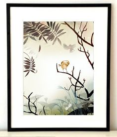 Anna Handell Liten fågel, artprint A3 via Prints. Click on the image to see more!