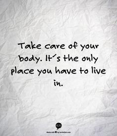 take care. #eatwell #WODoften