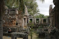 At the top of Phnom Chisor are some very nicely preserved 10th & 11th century AD Angkorian era ruins.