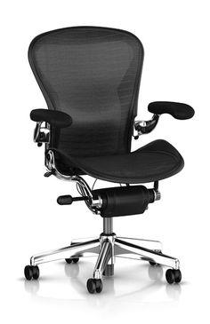 Aeron Chair with Executive Upgrades - Herman Miller