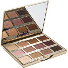 tarte Tartelette Amazonian Clay Matte Eyeshadow Palette ($45) ❤ liked on Polyvore featuring beauty products, makeup, eye makeup, eyeshadow, tarte, tarte eyeshadow and palette eyeshadow
