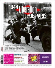Libération - Samedi 23 Août 2014 - N° 10347