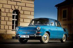 Auch Skoda fuhren in der DDR: Der am häufigsten anzutreffende war der 1000 MB.