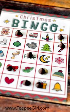 This free Christmas bingo printable game is the perfect (and easy!) way to add holiday fun to all your Christmas parties this year! Christmas Bingo Printable, Christmas Bingo Game, Christmas Parties, Christmas Fun, Holiday Fun, Holiday Ideas, True Meaning Of Christmas, Bingo Games, My Cup Of Tea