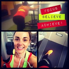 Today training mantra Focus, Believe, Achieve!