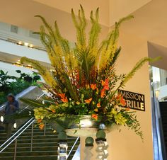 AIFD Symposium 2011 - Lobby Flowers by Bloomsters in San Jose, CA