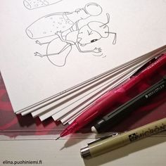 Mixed Animals Coloring Book Drawn!