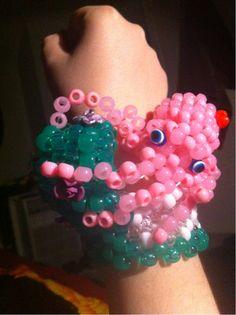 Oh my gosh! A Kandi Octopus!!! #dancefestopia #kandi
