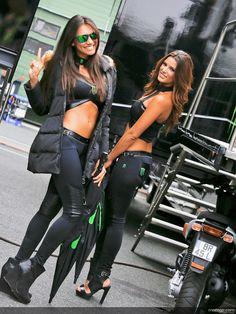 Paddock girls grand prix de la République Tchèque 2013 - CoursesMoto.com