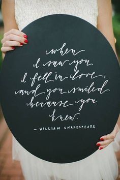 Wedding quotes, stationary