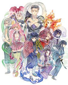 Demon Slayer: Kimetsu No Yaiba manga online Manga Anime, Anime Demon, All Anime, Manga Art, Anime Art, Demon Slayer, Slayer Anime, Blue Exorcist, Wallpaper Animes