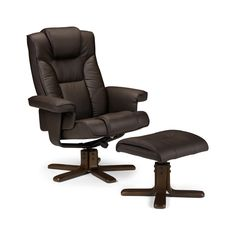 Malmo Recliner Chair With Foot Rest Stool