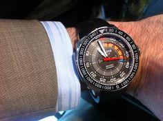 www.watchtime.com | baselworld | Baselworld 2013, Day One: Blancpain, Hublot, Graham, Alpina | Alpina YachtTimer 560
