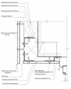 Glass balustrade connection detail architectural details for Innendesign studium berlin